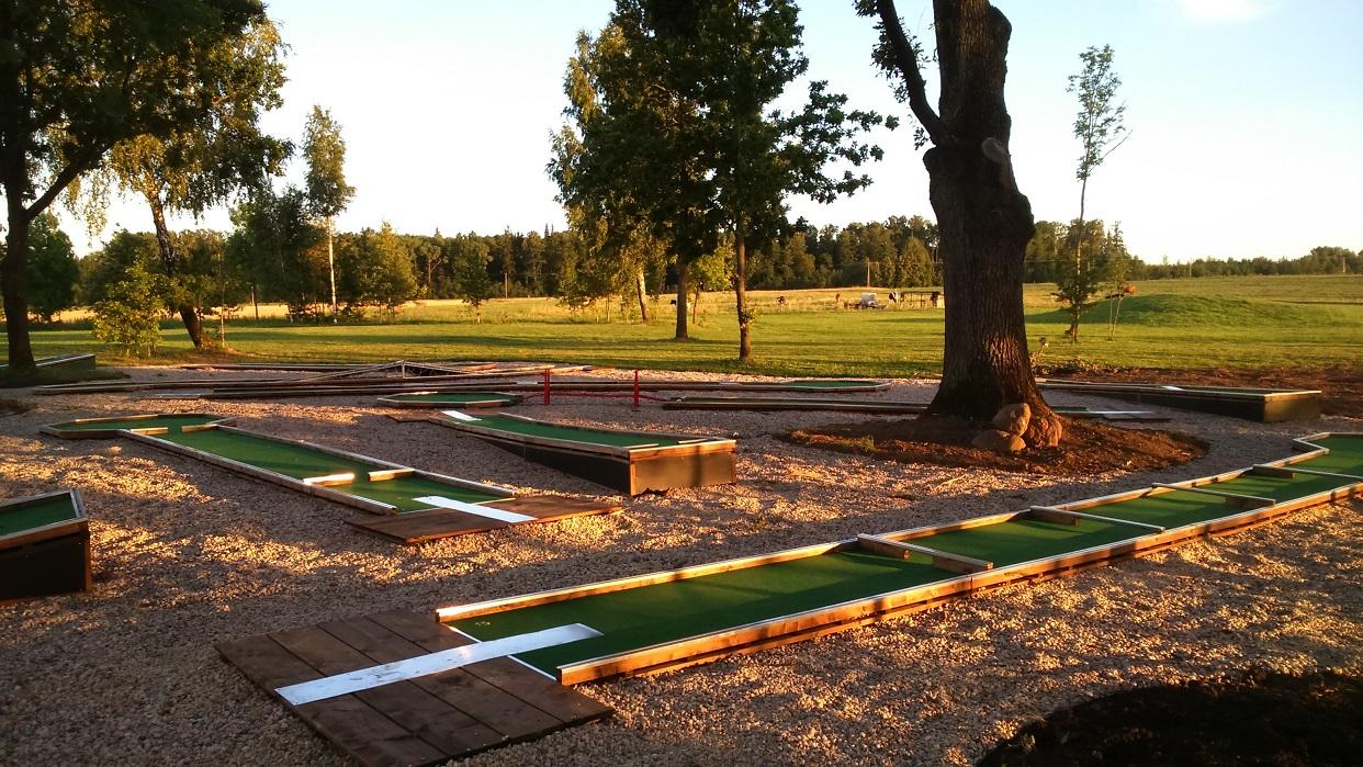 Profesionalios WMF veltinio mini golfo aikštelės Image